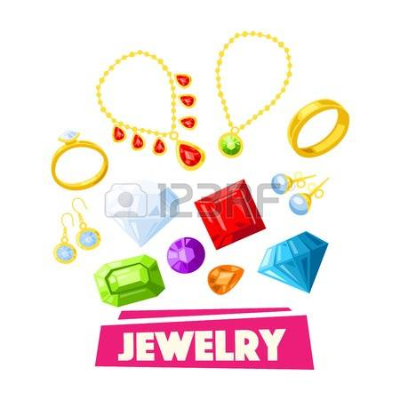 450x450 Jewelry Cartoon Clipart