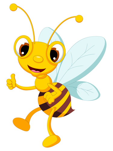 375x500 45.png Bees, Bee Clipart And Clip Art