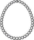 145x170 Pearl Jewelry Clip Art