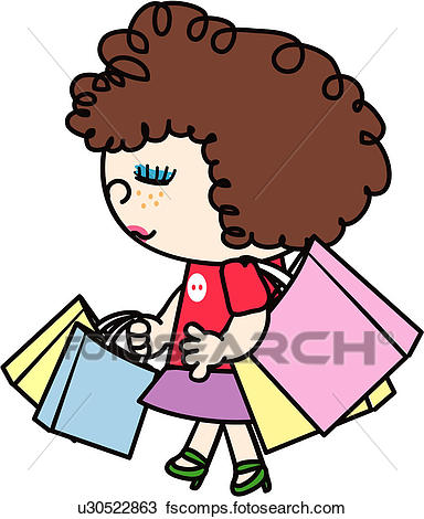 384x470 Clip Art Of Bag, Jewelry, Shopping Bag, Holding, Jewel Shop