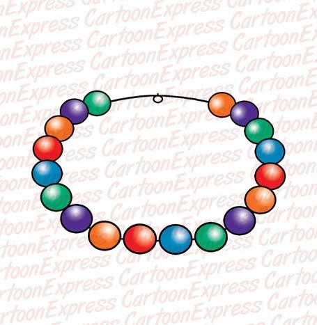 455x467 Necklace Clipart Cartoon