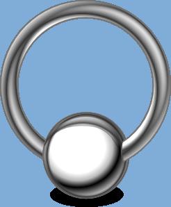 246x298 Clothing Accessory Jewlery Piercing Ring Clip Art