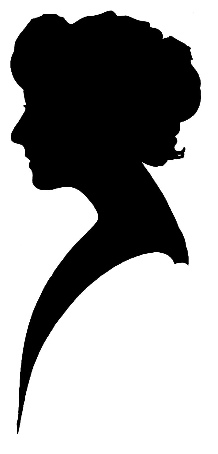 712x1479 Jewelry Clipart Woman Silhouette