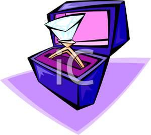 300x267 Large Diamond Ring In A Jewelry Box