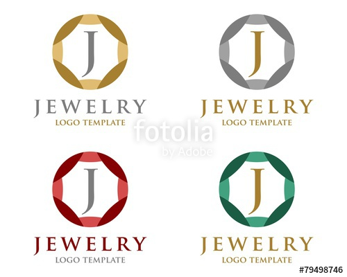 500x400 Jewelry Logo Template Stock Image And Royalty Free Vector Files