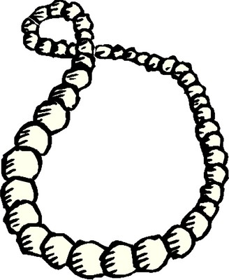 328x400 Pearl Necklace Clipart