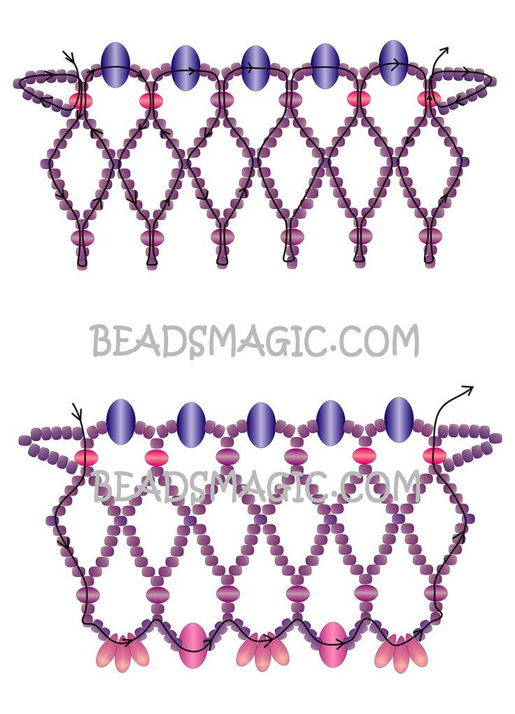 736x1019 470 Best Beads Magic Images Patterns, Appliques