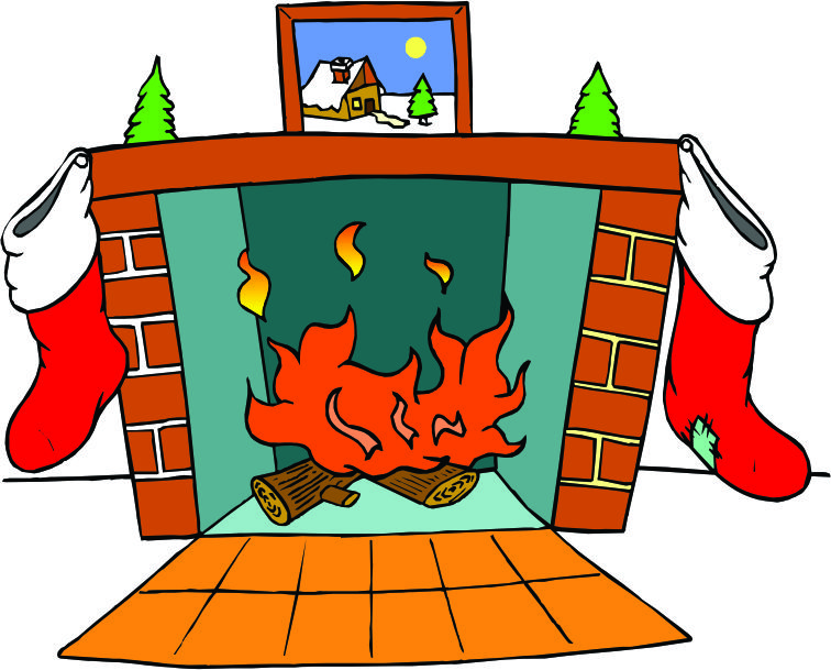 756x609 Fireplace Clipart Chimney