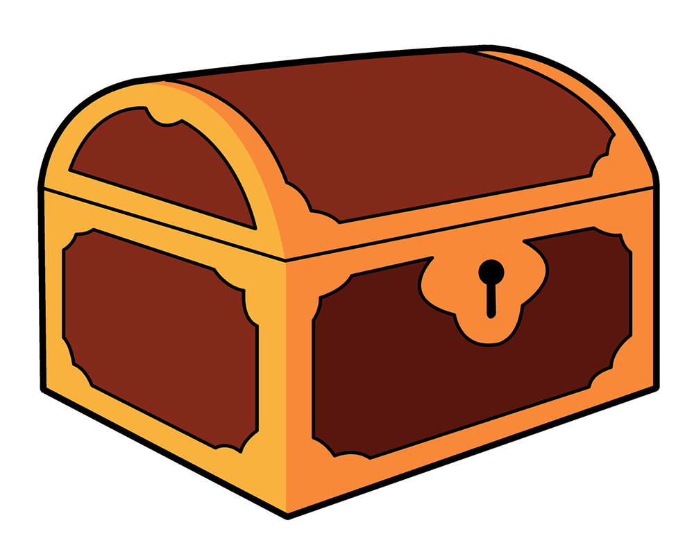 1000x786 Free Cartoon Treasure Chest Clip Art