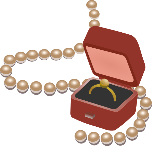600x573 Jewelry Cartoon Clipart