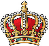 170x158 Clip Art Of Of Royal Gold Crown With Jewels K12441848