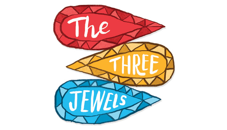 735x420 What Are The Three Jewels