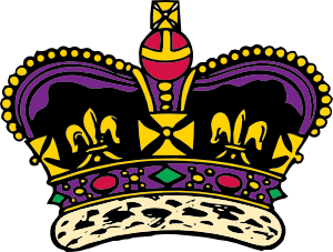 300x227 Clothing King Crown Clip Art