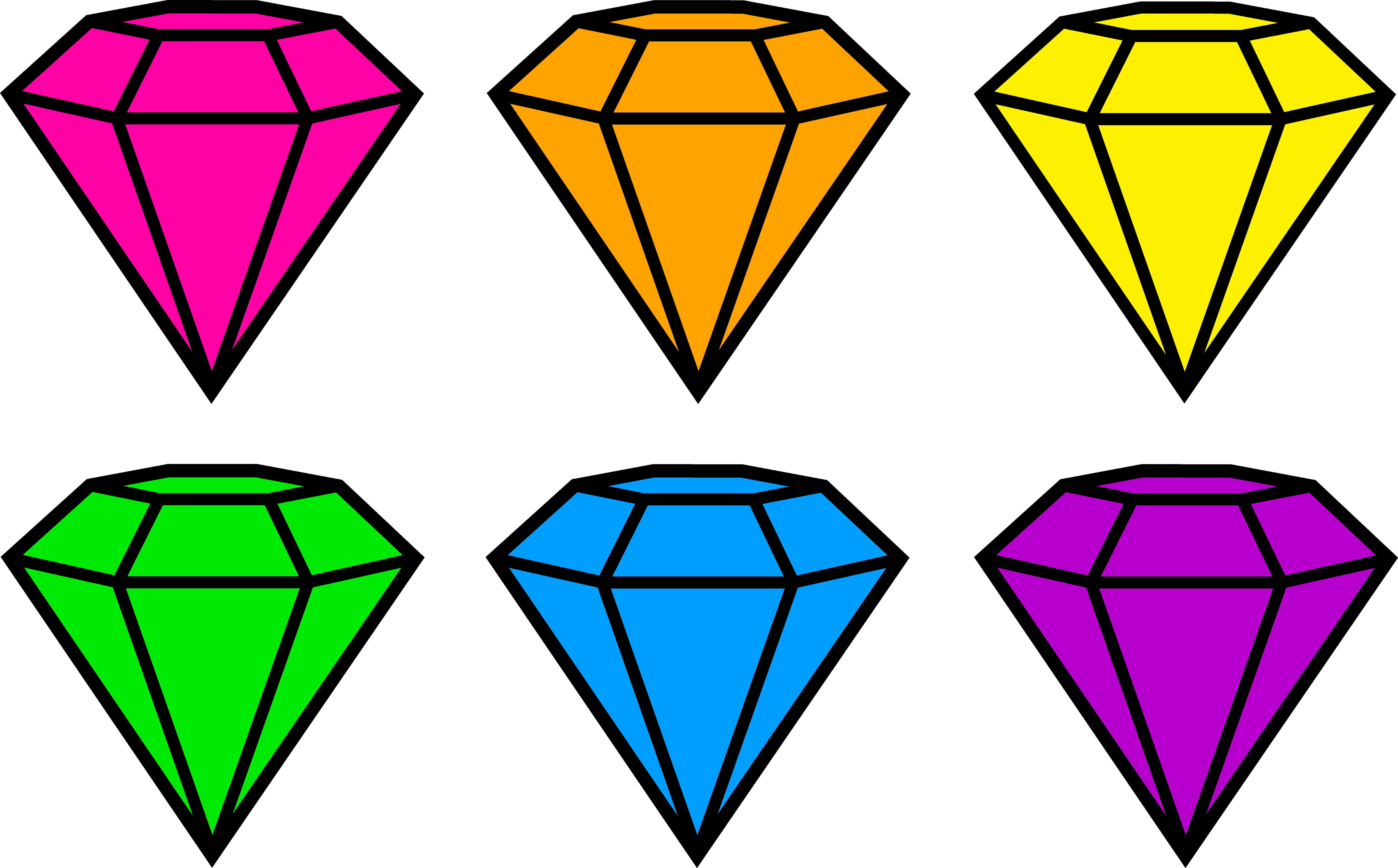 8673x5386 Diamond Clip Art Free Clipart Images 6