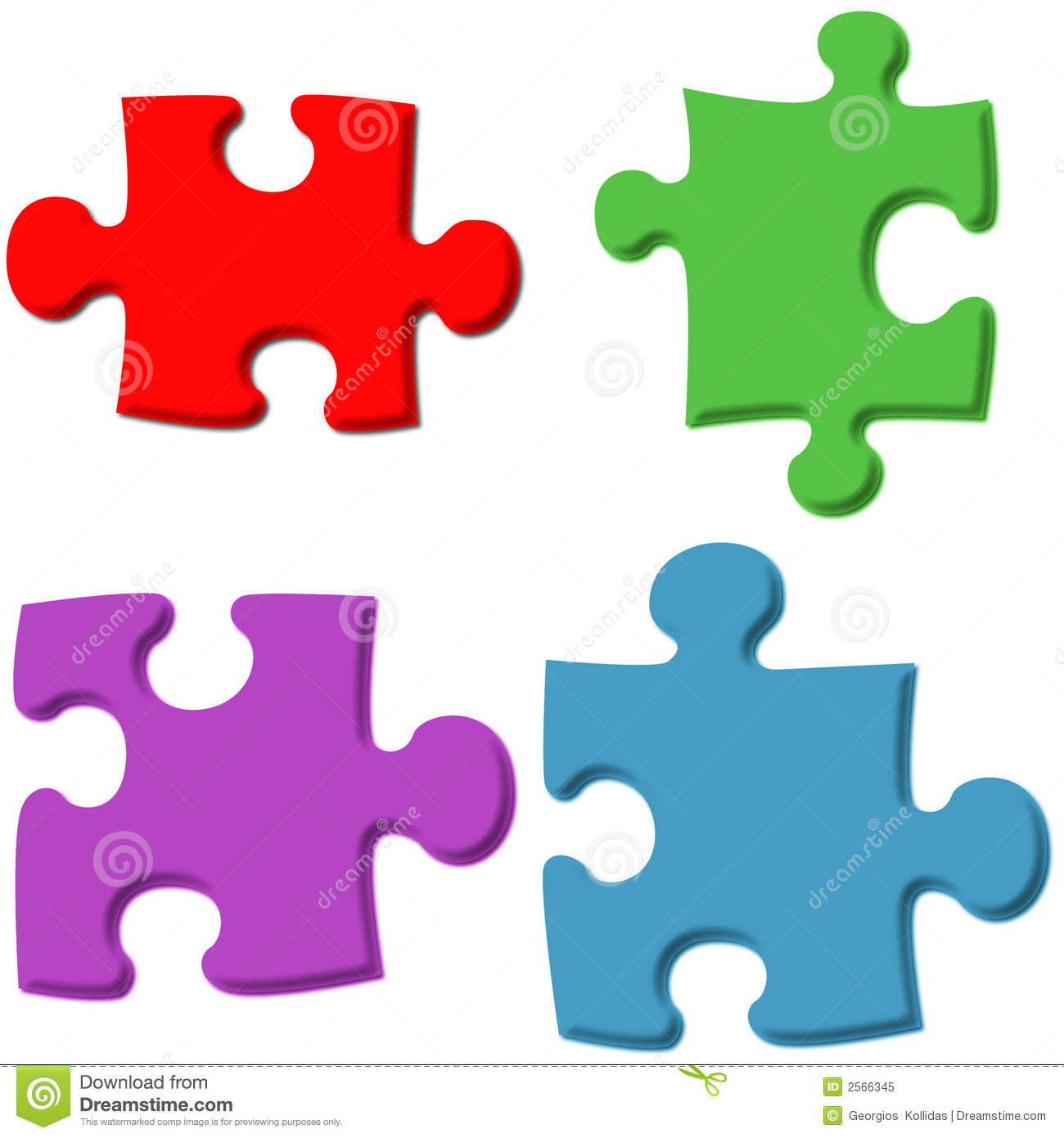 Jigsaw Puzzle Clipart