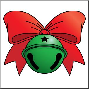 304x304 Clip Art Jingle Bell 1 Color 2 I Abcteach