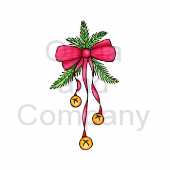 350x350 Jingle Bells With Red Bow Christmas Drawing Inspiration