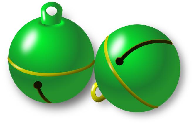 661x424 Jingle Bells Green