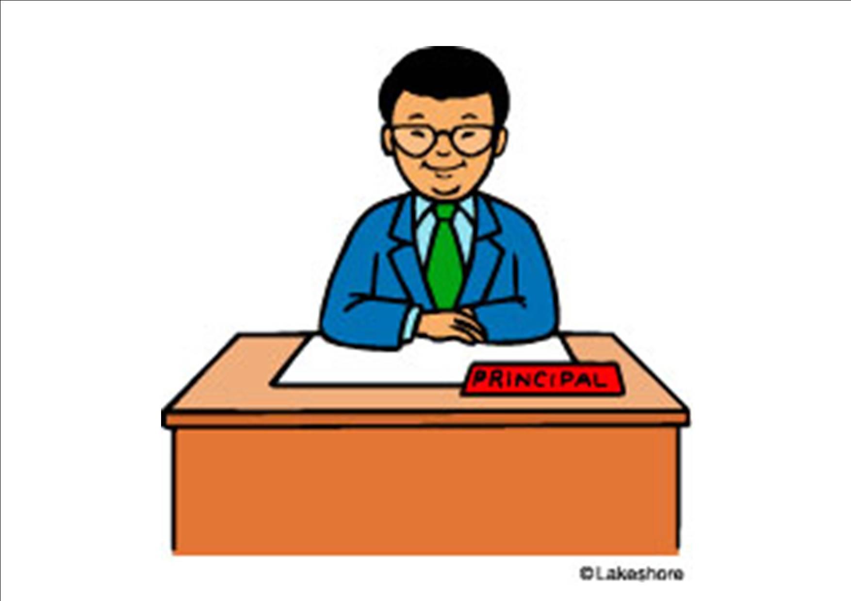 1754x1240 Desk Clipart Principal