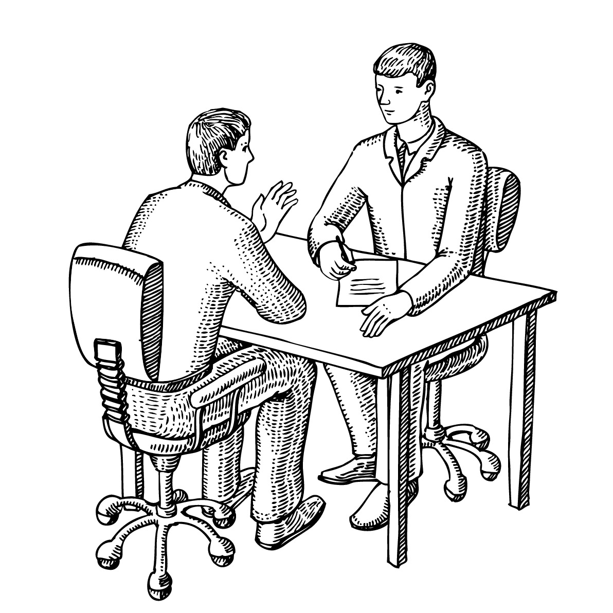 1192x1192 Police Interview Clipart
