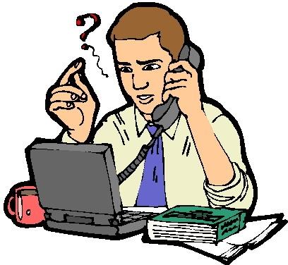 408x376 Art Telephone Interview Clipart