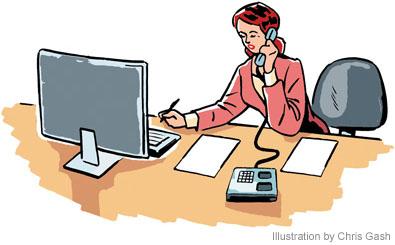 395x245 Office Job Clipart