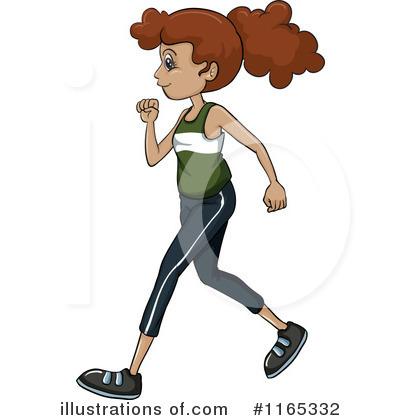 400x420 Jogging Clipart