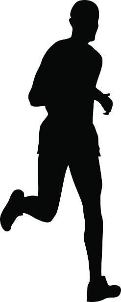 247x612 Jog Clipart Silhouette