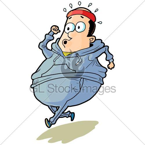 Jogging Clipart