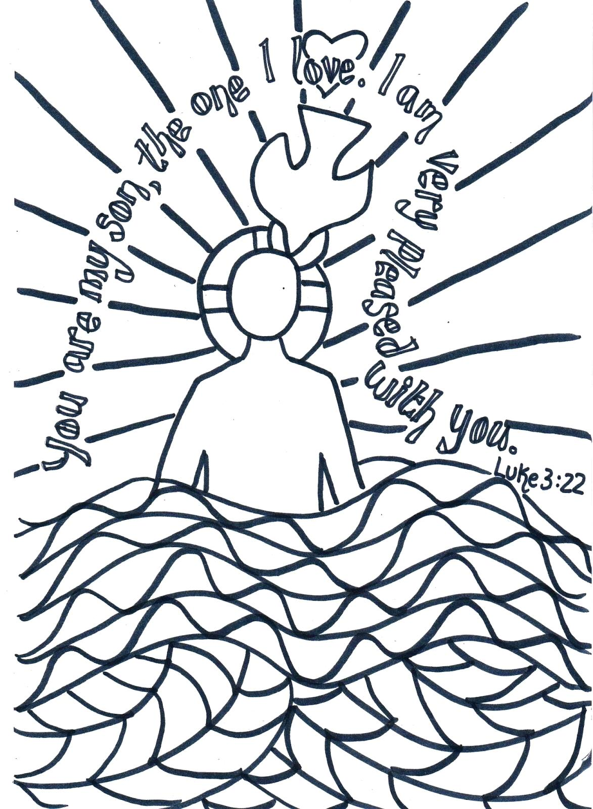 John The Baptist Coloring Page | Free download on ClipArtMag