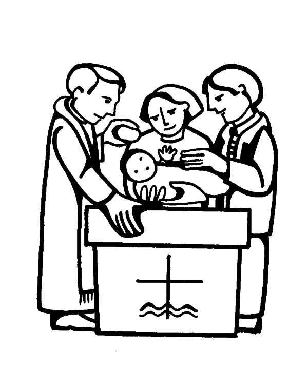 600x762 Colouring Pages For Baptism Baptism Candle Coloring Page Pages.
