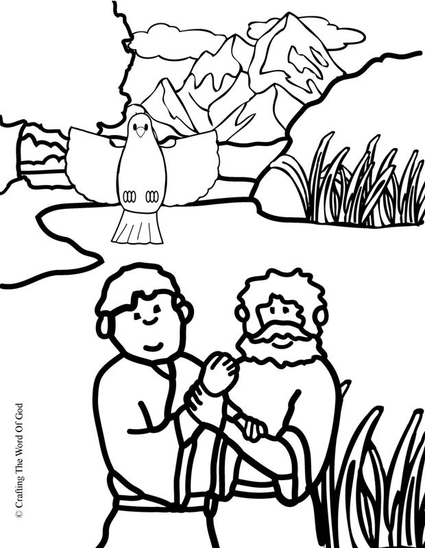 620x800 John The Baptist Coloring Page