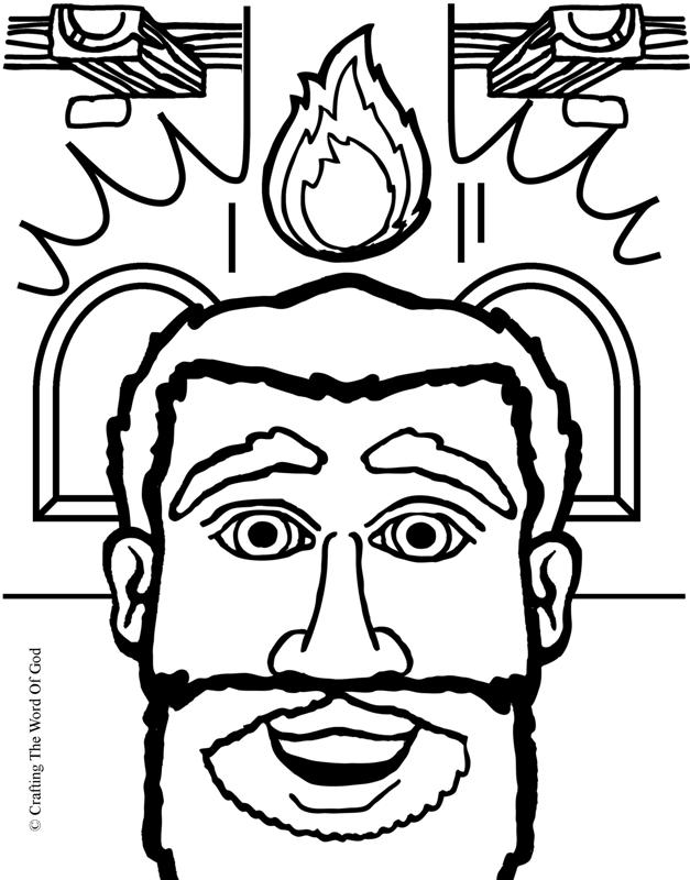 627x800 John The Baptist Coloring Page Many Interesting Cliparts