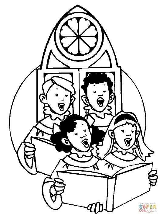 537x720 Singing In Church Coloring Page Free Printable Coloring Pages