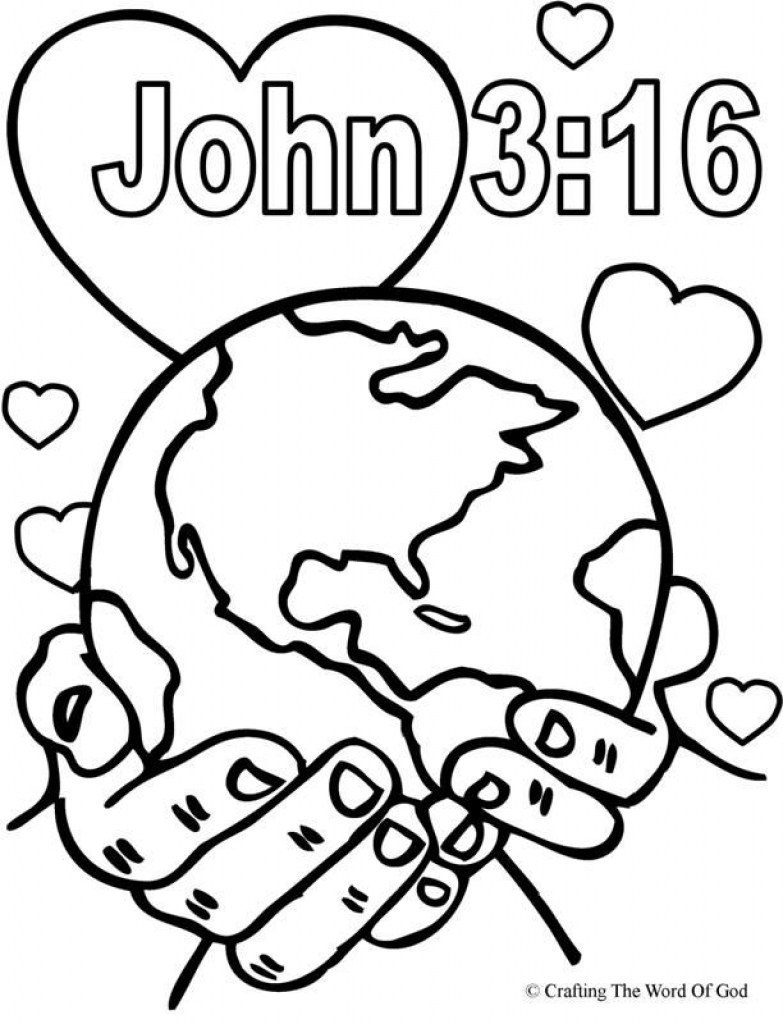 783x1024 The Best Sunday School Coloring Pages Ideas
