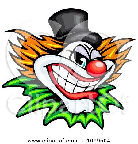 450x470 Evil Joker Faces Clip Art Cliparts