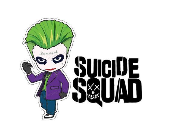 570x453 Joker Suicide Squad Clipart Vector Illustration Harley