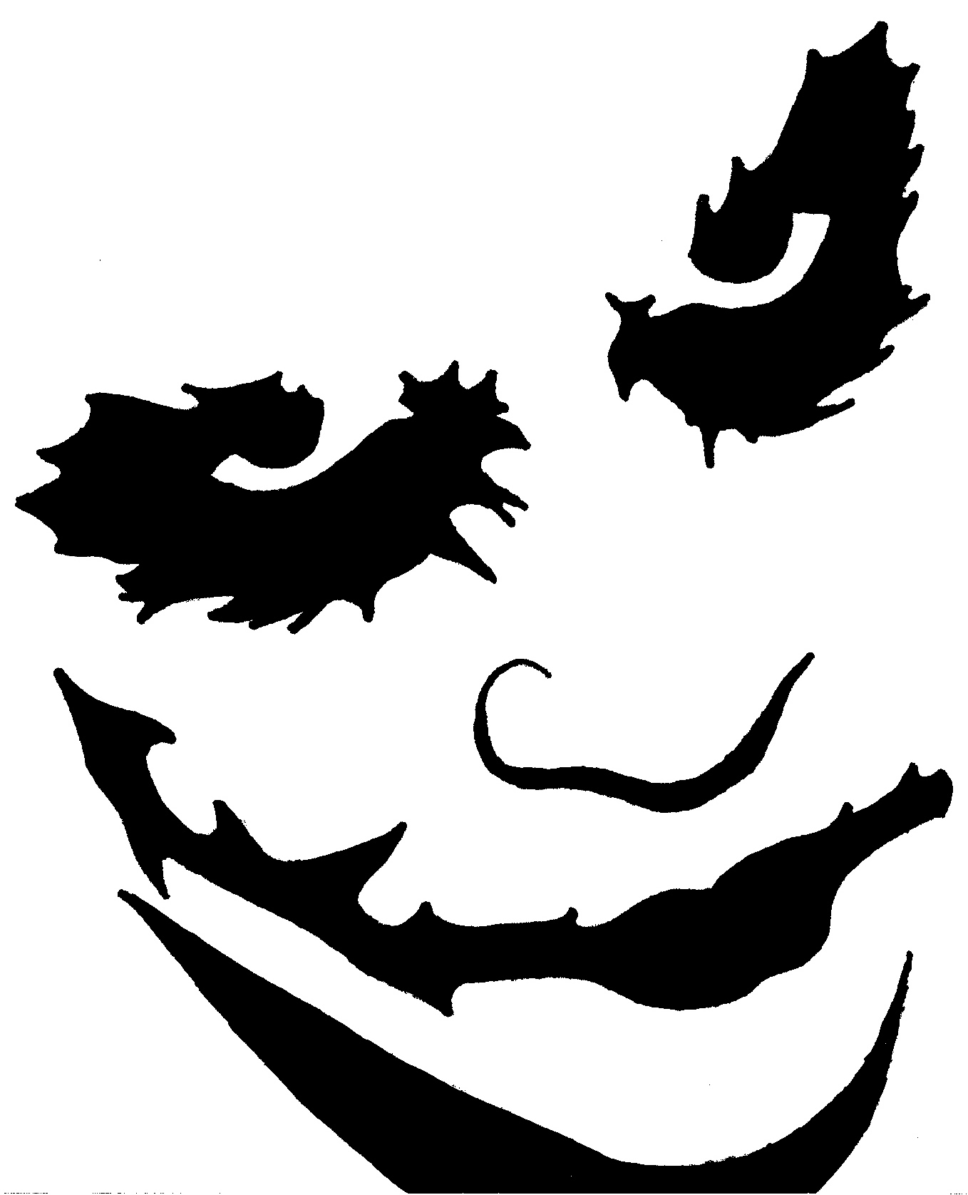 1358x1676 Joker Clipart Batman