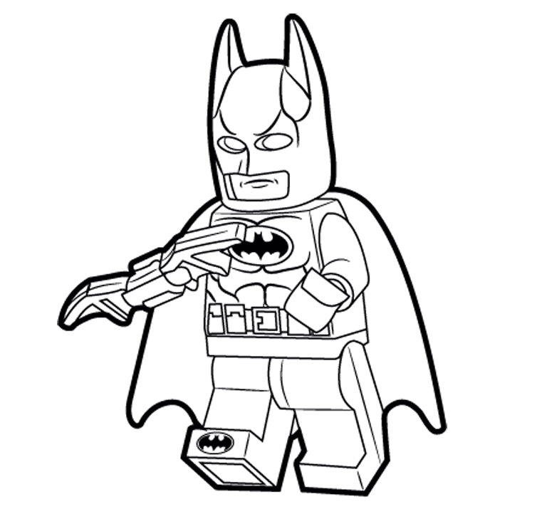 761x715 Batman Robin Coloring Pages