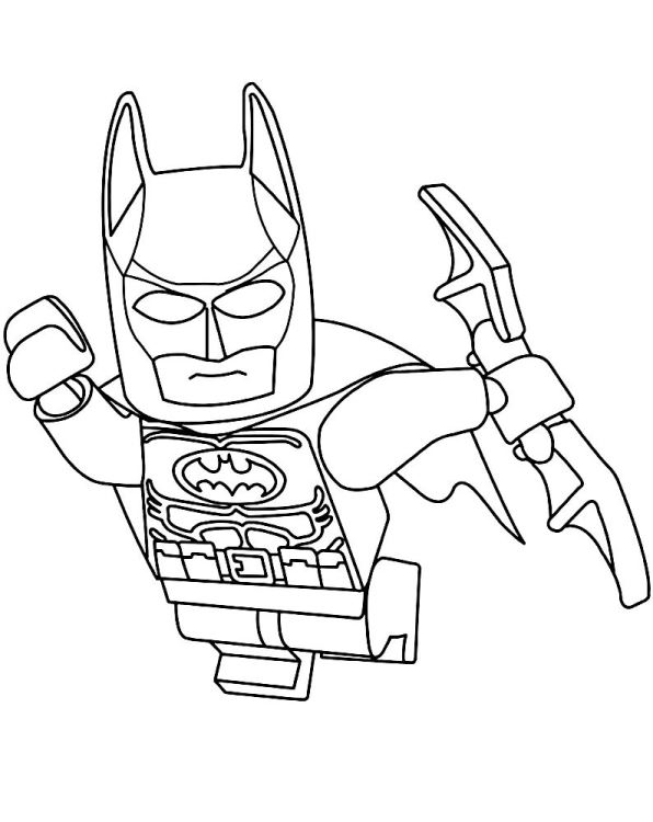 596x750 Kids N 16 Coloring Pages Of Lego Batman Movie