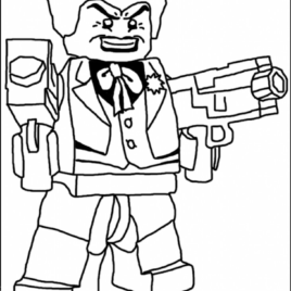 268x268 Lego Joker Coloring Pages 1000 Images About Lego