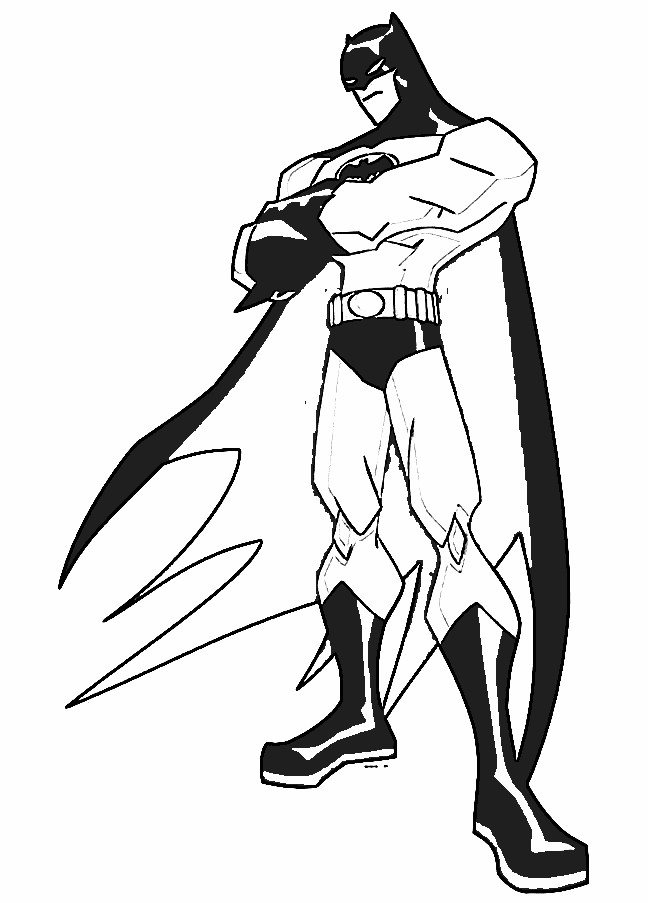 648x903 Batman Begins Pages Colouring Pages Coloring For Kids