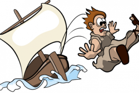 450x300 Christian Clip Art For The Story Of Jonah