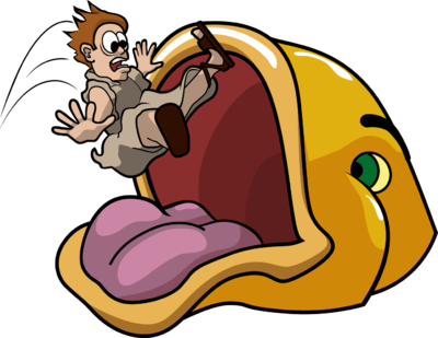 400x309 Image Jonah Swallowed By Fish Jonah Clip Art