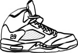 302x206 Drawn Shoe Jordan 5