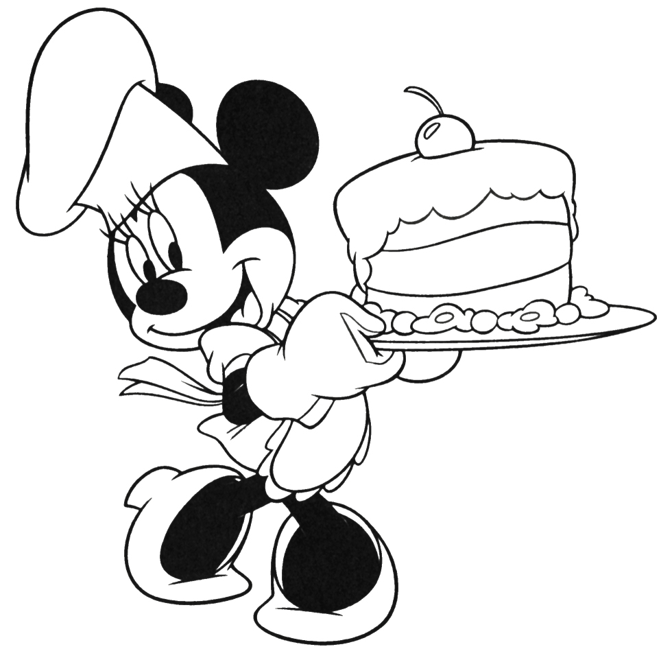 980x962 Mickey Mouse Coloring Pages