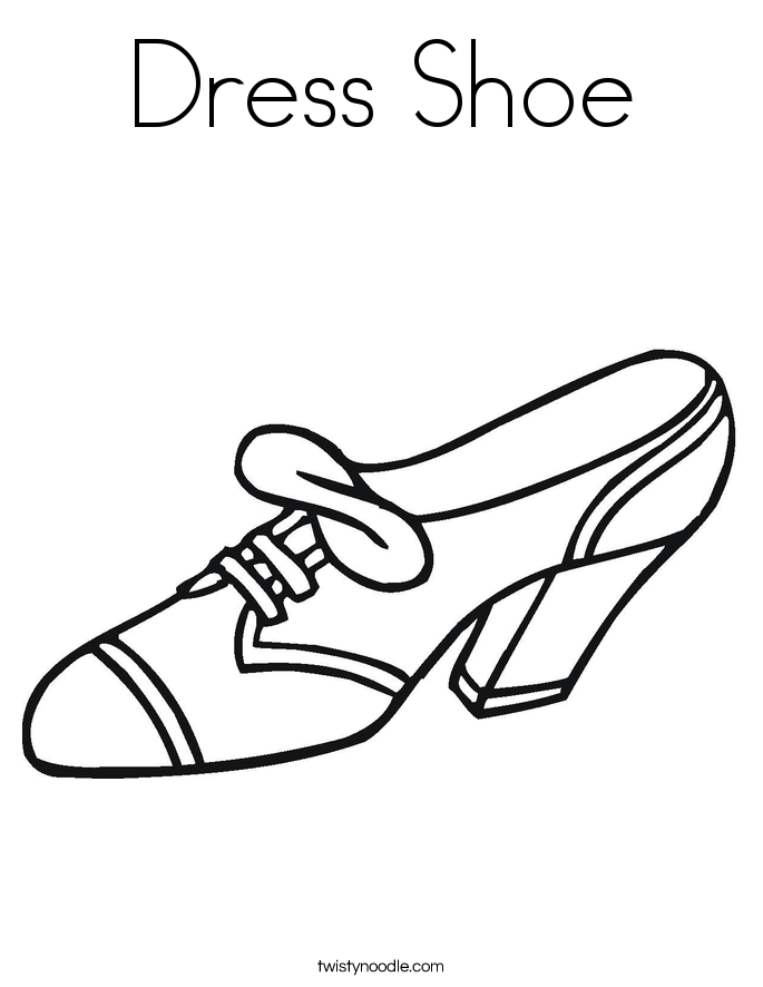 childrens coloring pages shoes - photo#26