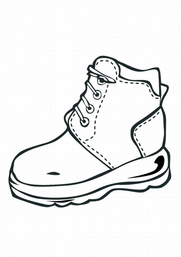 Jordan Shoes Coloring Pages Free download best Jordan