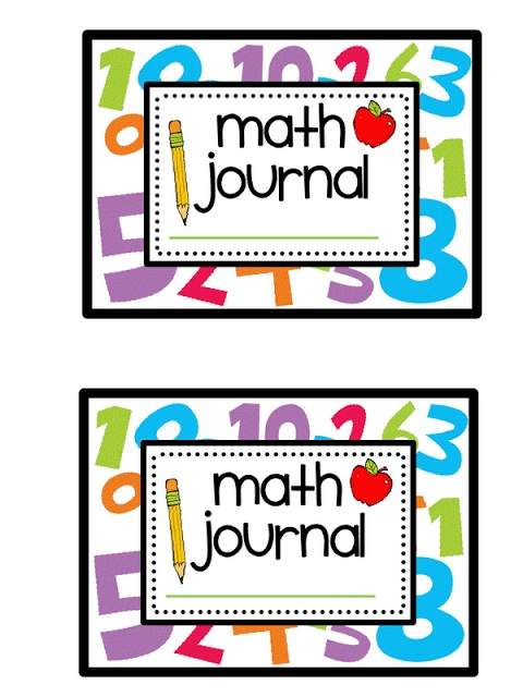 480x640 Mathematics Clipart Math Notebook