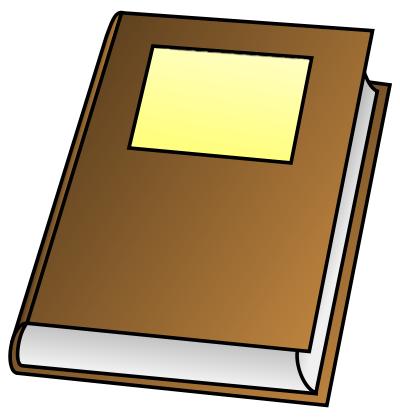 400x418 Notebook Clipart Journal